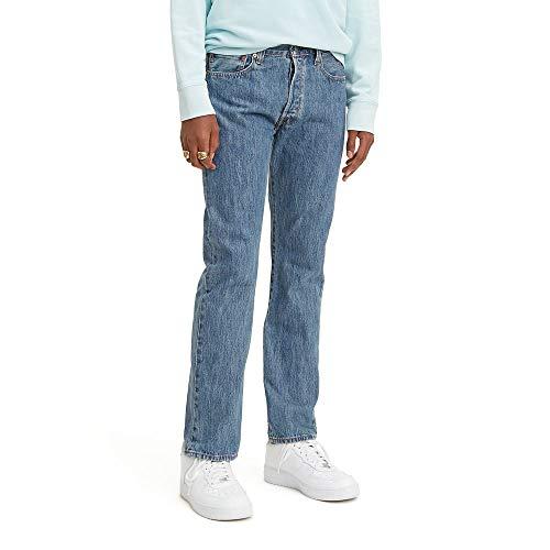 Levi's Men's 501 Original Fit Jeans, Medium Stonewash, 36W x 30L