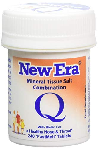 New Era Mineral Cell Salt Combination Q for Catarrh & Sinus Disorders 240 Tablet