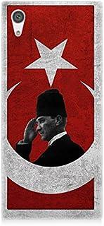 Sony Xperia Xa1 Mustafa Kemal ATATÜRK Desenli Silikon Kılıf