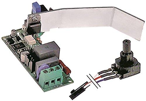 VORTEX Platine für Mixer Sirman VORTEX 43, VORTEX 55, VORTEX 75, Mastro FJZ0010, FJZ0011, FJZ0012 mit Potentiometer 230V