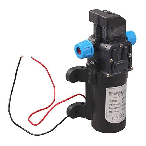 Occitop - Bomba de Agua con Micro diafragma de Alta presión, 12 V, 60 W, 5 L/min