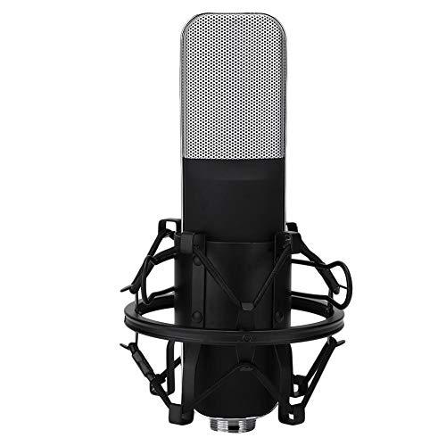 Condensatormicrofoon, Live-uitzendingen Opnamemicrofoon voor online karaoke, Gaming-microfoon voor het opnemen van zang, instrumentale uitvoeringen