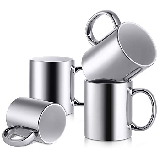 4 CT LIFVER Porcelain Novelty Coffee Mugs Set $9.58 (66% Off)