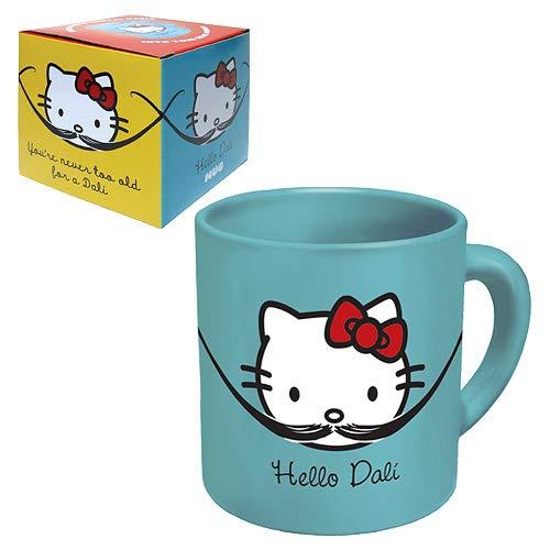 Hello Kitty Hello Dali, 340 ml Kaffeetasse aus Keramik in Geschenkbox