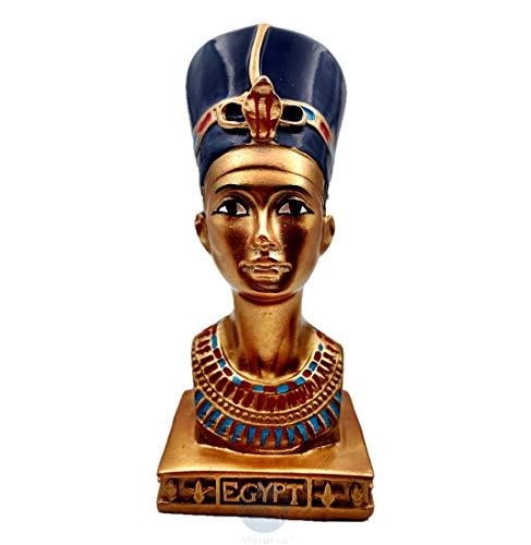 Mindful Deko-Skulptur Ägyptische Königin Nofretete Büste