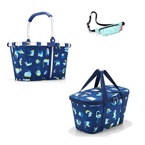 reisenthel Kids Einkaufskorb/carrybag XS und Isotasche/coolerbag XS ABC Friends Blue