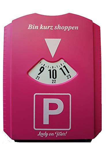 N B Parkscheibe Pink Lady on Tour! Parken Geburtstag Scherzartikel