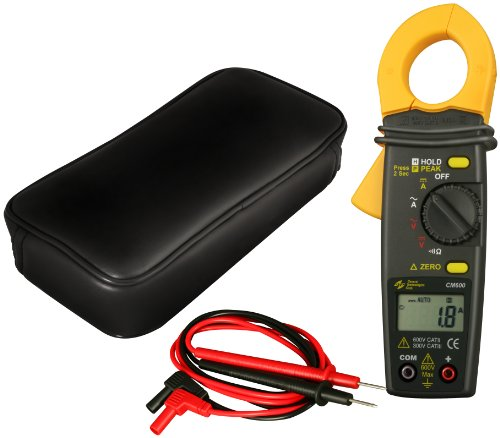 General Technologies Corp GTC CM600 600 Amps AC/DC Current Clamp Meter