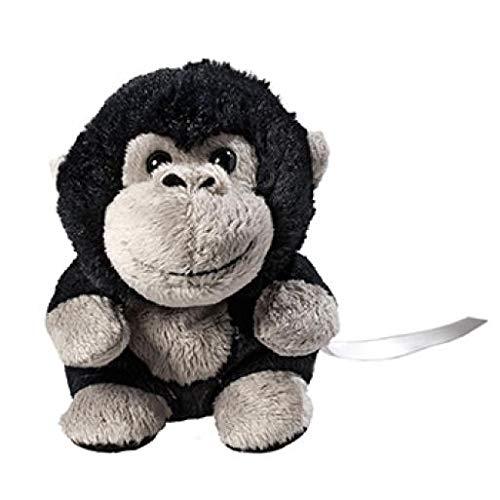 Schmoozies® XXL Gorilla Stofftier Schmusetier Kuscheltier Plüschtier Teddy Bildschirmreiniger