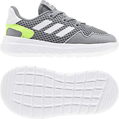 adidas Archivo I, Zapatillas de Running Unisex bebé, Grey/FTWR White/Signal Green, 26.5 EU