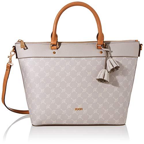 Joop! Damen Cortina Thoosa Handbag Lhz Henkeltasche, Grau (lightgrey), 13.5x27x41 cm