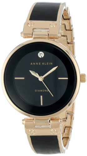 Reloj Anne Klein Genuine Diamond para Mujer 34mm, pulsera de Acero Inoxidable