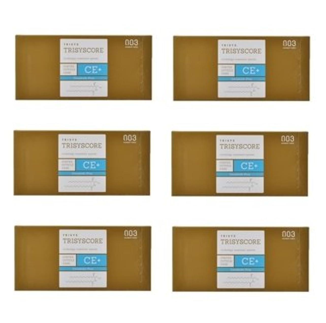 どれでも治療言及する【X6個セット】ナンバースリー トリシスコア CEプラス (ヘアトリートメント) 12g × 4包入り
