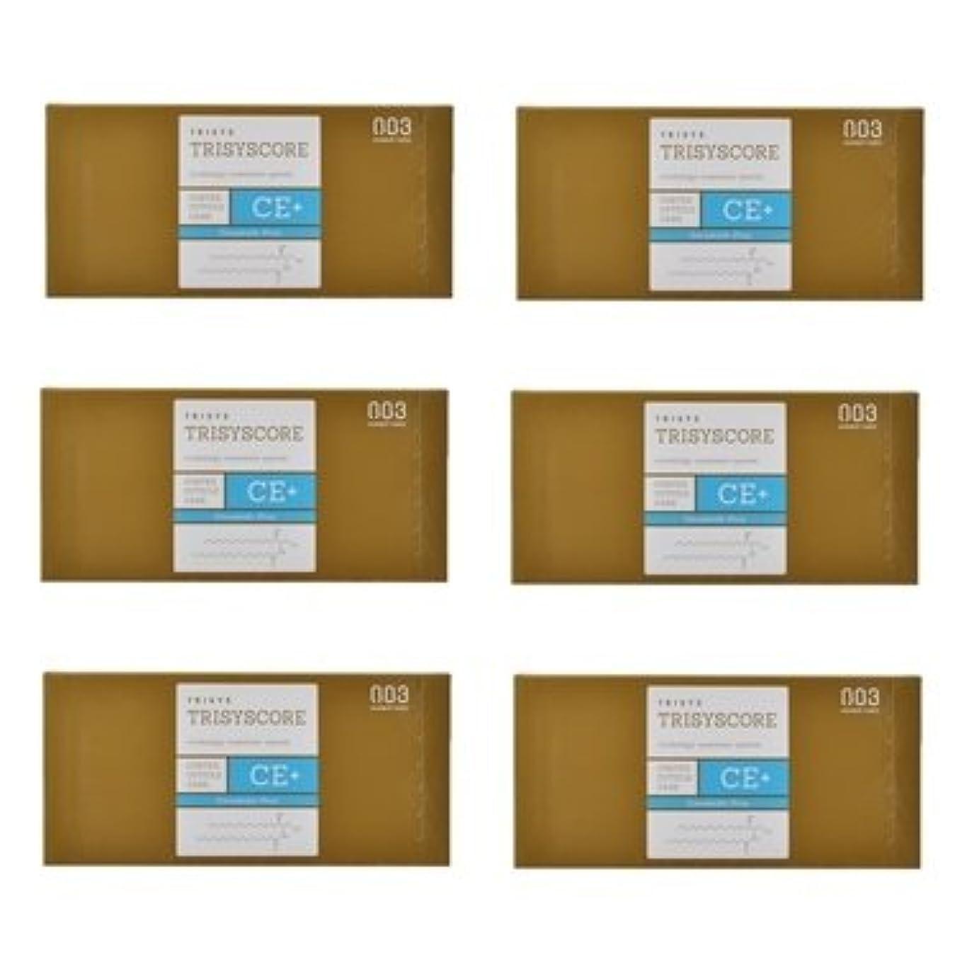 り仮定する医薬品【X6個セット】ナンバースリー トリシスコア CEプラス (ヘアトリートメント) 12g × 4包入り