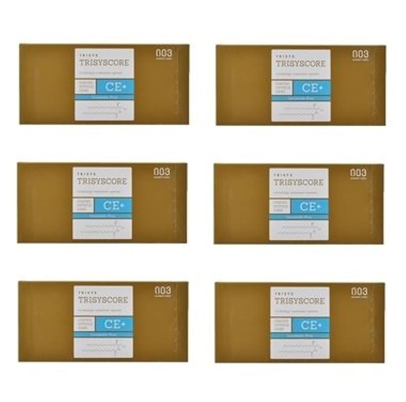 予防接種する税金ミニ【X6個セット】ナンバースリー トリシスコア CEプラス (ヘアトリートメント) 12g × 4包入り