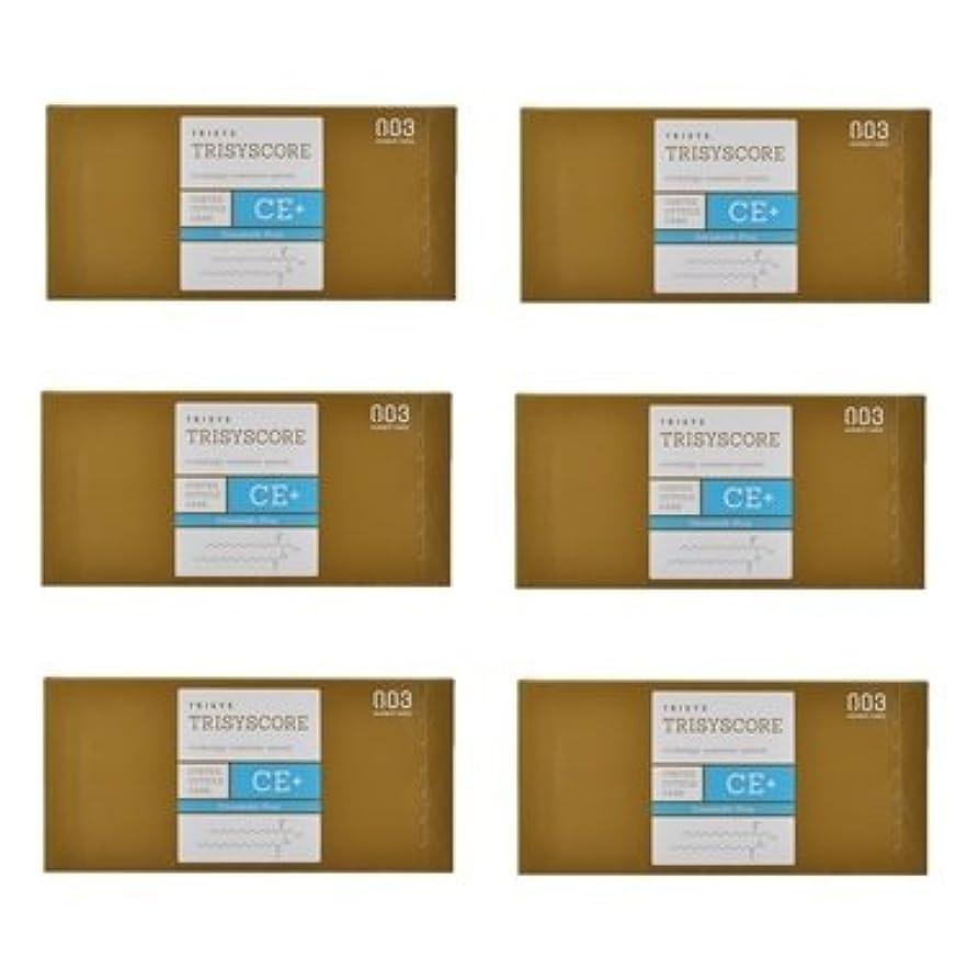 有料中毒購入【X6個セット】ナンバースリー トリシスコア CEプラス (ヘアトリートメント) 12g × 4包入り