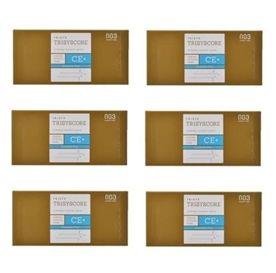 オリエンテーションスパイラル数学【X6個セット】ナンバースリー トリシスコア CEプラス (ヘアトリートメント) 12g × 4包入り