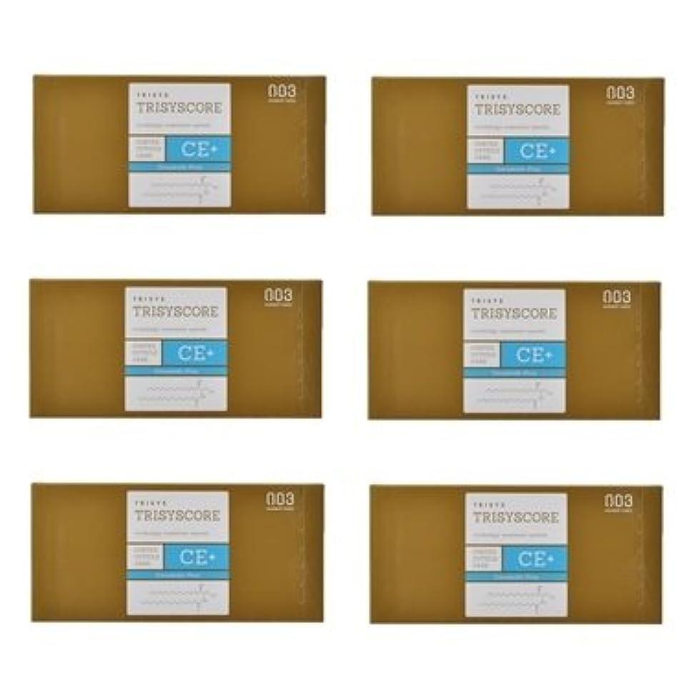 名目上のエンゲージメントディスコ【X6個セット】ナンバースリー トリシスコア CEプラス (ヘアトリートメント) 12g × 4包入り
