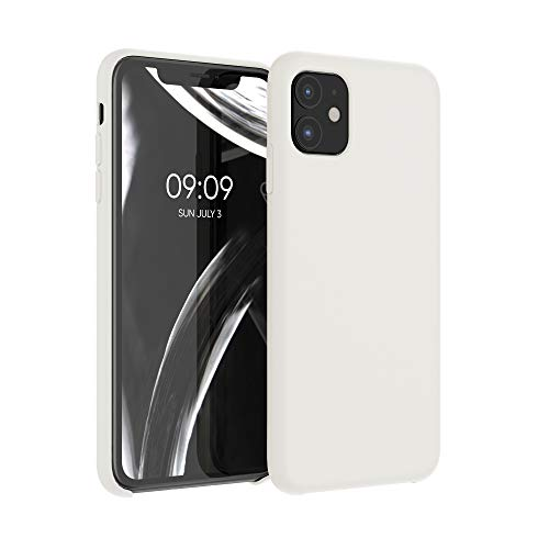 kwmobile Hülle für Apple iPhone 11 - Handyhülle gummiert - Handy Hülle in Creme