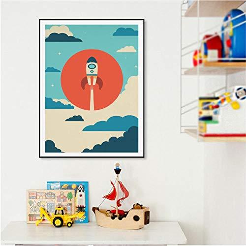 Liangzheng koffie wijn Italiaans typografische affiches en prints keuken decor jubel minimalistische bar muurkunst canvas schilderijen 40x50cmx3 niet ingelijst