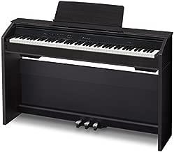 Casio PX860 BK Privia Digital Home Piano, Black with Power Supply