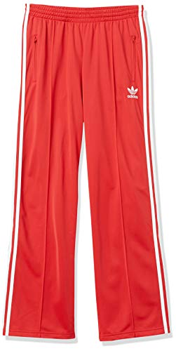 adidas Originals Women's Firebird Track Pants, Lush Red/White, S