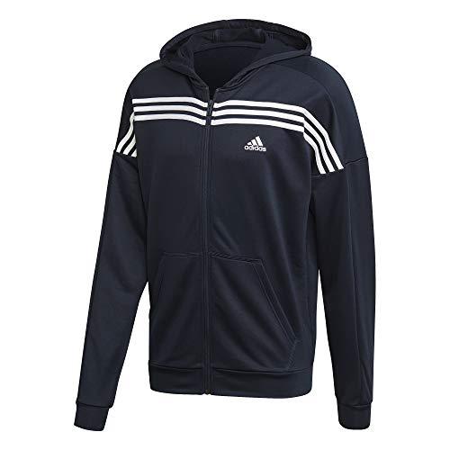 adidas MTS Urban Sportset, Herren XXL Schwarz, Weiß (Legend Ink/White)