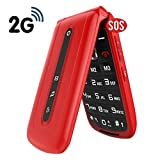 GSM Big Button Unlocked Mobile Phones with SOS,Extra Loud-Speaker for Elderly,Dual Sim Free