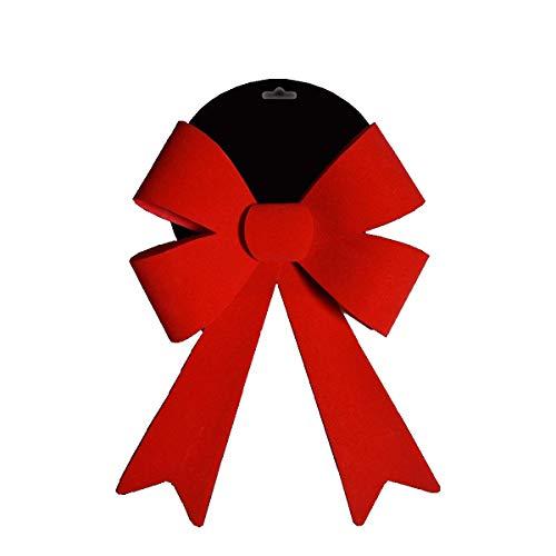 TOYLAND® - Arco Decorativo Terciopelo Rojo Grande