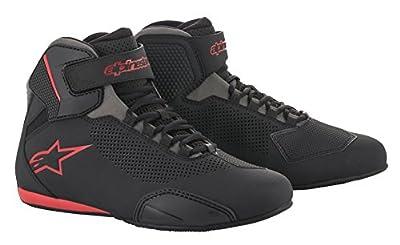 Alpinestars Men's 251561813111 Shoe (Black/Grey/Red, Size 11) from Alpinestars