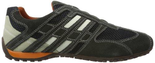 Geox UOMO SNAKE L, Herren Sneakers, Grau - 6