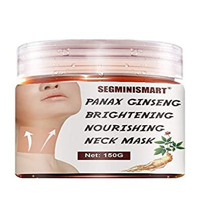 Neck Firming Cream, Neck Cream, Neck Mask, Neck Anti-Wrinkle Cream, Neck Moisturizer Cream, Anti-Aging Firming Neck Cream for Neck Décolleté Double Chin Turkey Neck Saggings Crepe