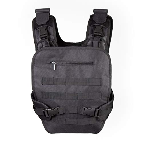 JumpOff Jo Military-Inspired Baby Carrier for Men - Soft Front Pack for Dads with Tactical MOLLE/PALS Compatibility