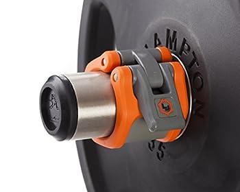 Lock-Jaw HEX 50mm / 2  Olympic Barbell Collar  Orange