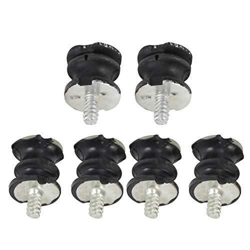 Zer one1 Amortiguador aislador, Soportes de amortiguación estables, Metal Compatible con Stihl Forestry Compatible con Husqvarna Garden