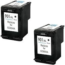 Prestige Cartridge 2 Negro Cartuchos de Tinta para HP Officejet 4500 G510a G510g G510n J4500 J4524 J4535 J4540 J4550 J4580 J4585 J4600 J4624 J4660 J4680 J4680C | reemplazo para HP 901 XL