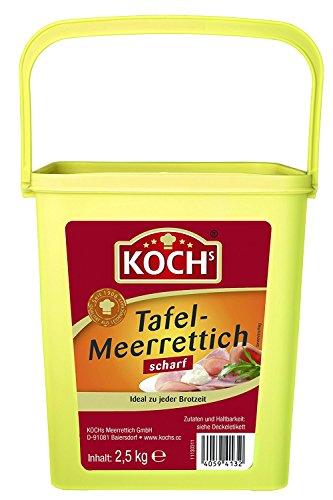 Koch's Tafelmeerrettich, 1er Pack (1 x 2.5 kg)