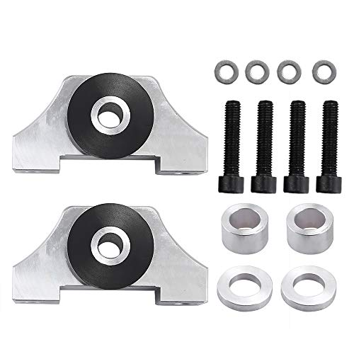 Hoypeyfiy Engine Motor Torque Mount Kit B-series/D-series For 92-01 Honda Civic EG EK JDM D15 D16 B16 B18 B20