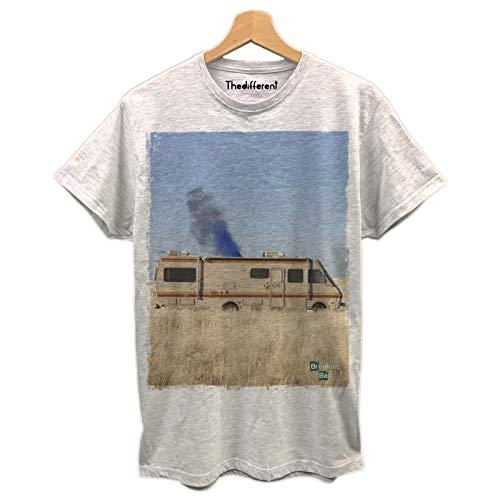 T-Shirt Uomo Camper Breaking Bad Serie TV Idea Regalo