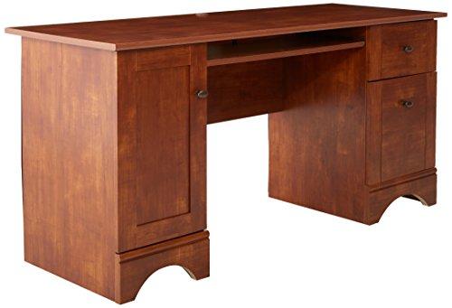 Sauder Computer Desk, Brushed Maple fini...