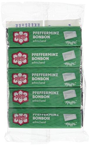 Pfeffi Pfefferminzbonbons 5er, 8er Pack (8 x 47 g)