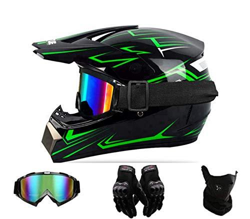 FANYI Jugend/Kinder Motocross Helm für Mountainbike ATV BMX Downhill...