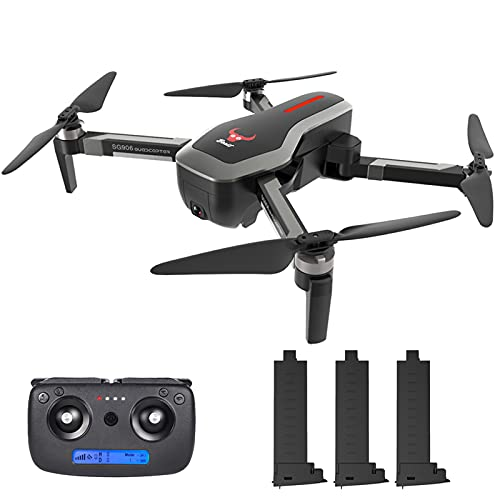 skrskr GoolRC SG700-D FPV RC Drone con Telecamera 4K HD grandangolare Flusso Ottico di Posizionamento Follow Me Altitude Hold Quadcopter