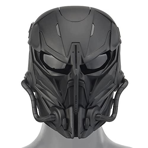 Huenco Maschere tattiche di Halloween Paintball BB Gun Shooting Full Face Protective Mask Arrivo Punisher Mask