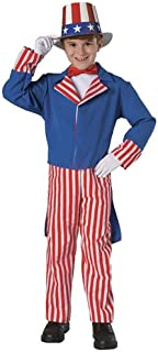 Uncle Sam Child Costume - Small (4-6)