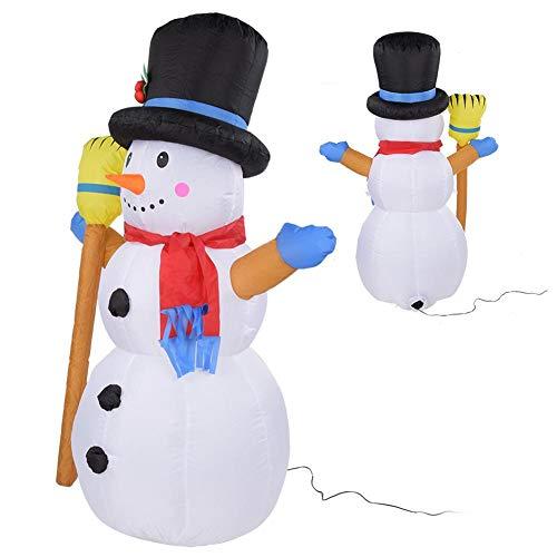 opblaasbare sneeuwpop lidl