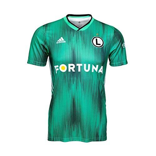 adidas Lwa Legia Warszawa domowa koszulka domowa dla dzieci, uniseks Hi-Res Green 152