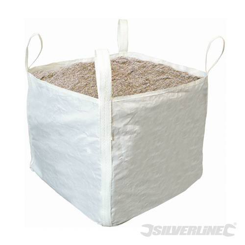 multi-trip Bulk Sac 1 tonne, 900 x 900 x 800 mm, Tissu En Polypropylène haute résistance avec résistance à la traction de la base > 1470 N/50 mm et en toile > 15000 N/50 mm. Lave-vaisselle de travail Charge 1000 kg avec Facteur de sécurité 5 : 1. sift-proof Coutures et résistant stay-open Boucles, coutures d'angle pour Surround Sac entièrement. Facile à empiler.