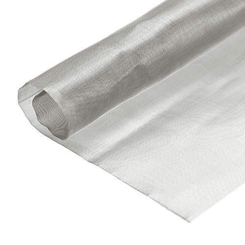 DyniLao 330x305mm Woven Wire Mesh, 200 Mesh 304 Stainless Steel, for Computer Cooling Fan Air Vent Cabinet