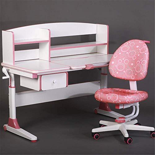 Escritorio y silla para niños Setcha Setcha Set de mesa Multifuncional Escritorio y silla Conjunto Niños Niños Estudio Tabla Escuela Estudiante Escritorio Estudiante Libro para niños Niñas Niños Amigo